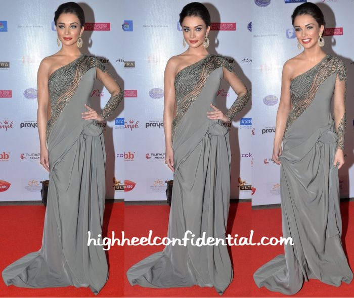 Amy Jackson In Gaurav Gupta At Miss India Pageant 2016-1