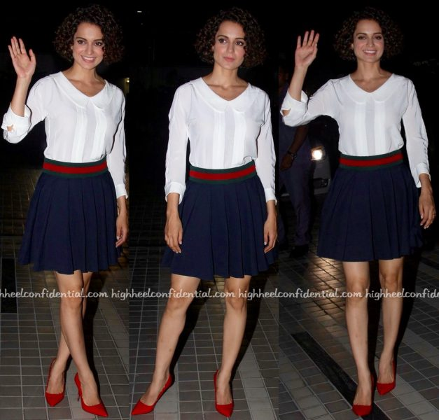 Kangana Ranaut At 'Rangoon' Wrap Party
