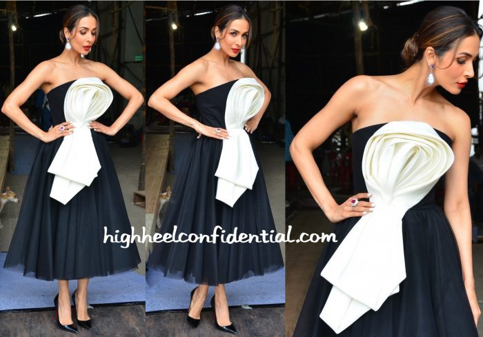 Malaika Arora In Ester Abner On India's Got Talent Sets-1