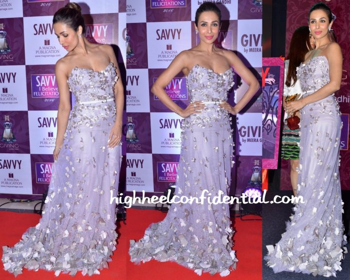 Malaika Arora Khan In Antonios Couture At Savvy Magazine Event-1