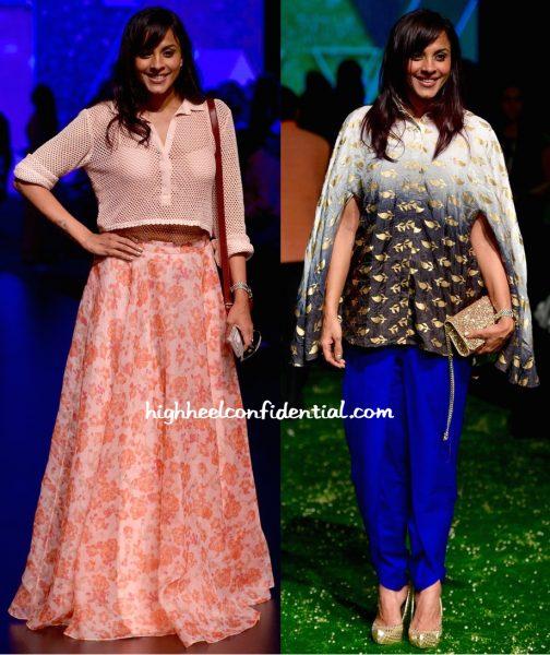 Manasi Scott In Neeta Lulla And Masaba At Lakme Fashion Week Summer Resort 2016-1