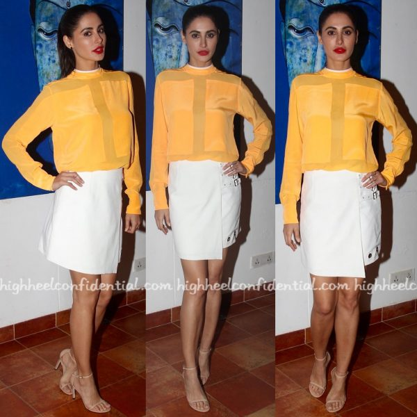Nargis Fakhri At Azhar Promotions-2