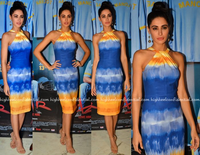 Nargis Fakhri In H&M At Azhar Promotions
