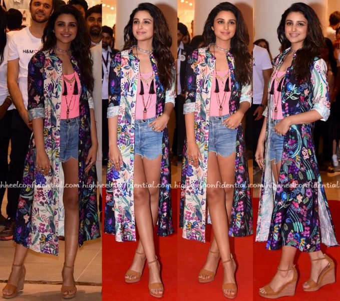 Parineeti Chopra At H&M Store Launch In Delhi-1