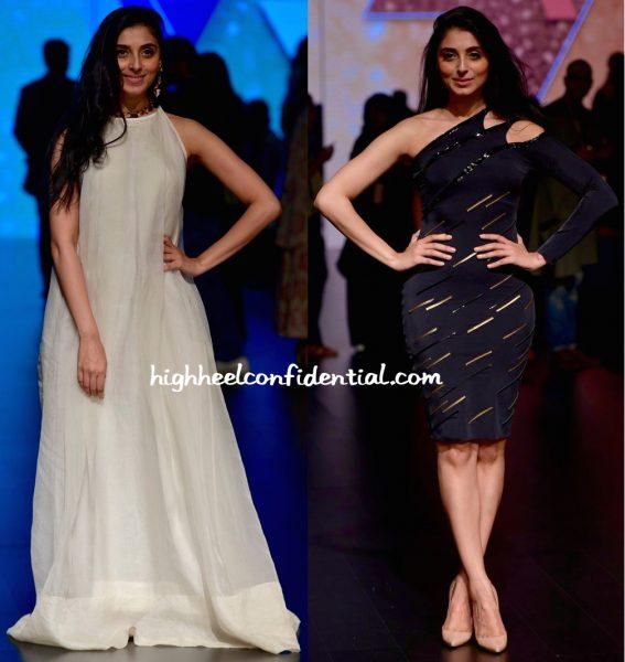 Pernia Qureshi In Masaba And Shivan Narresh At Lakme Fashion Week Summer Resort 2016-1