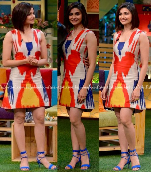 Prachi Desai Wears Osman To 'The Kapil Sharma Show' Sets For Azhar Promotions