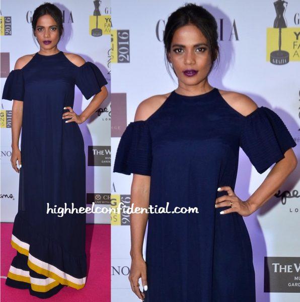 Priyanka Bose In Urvashi Joneja At Grazia Young Fashion Awards 2016