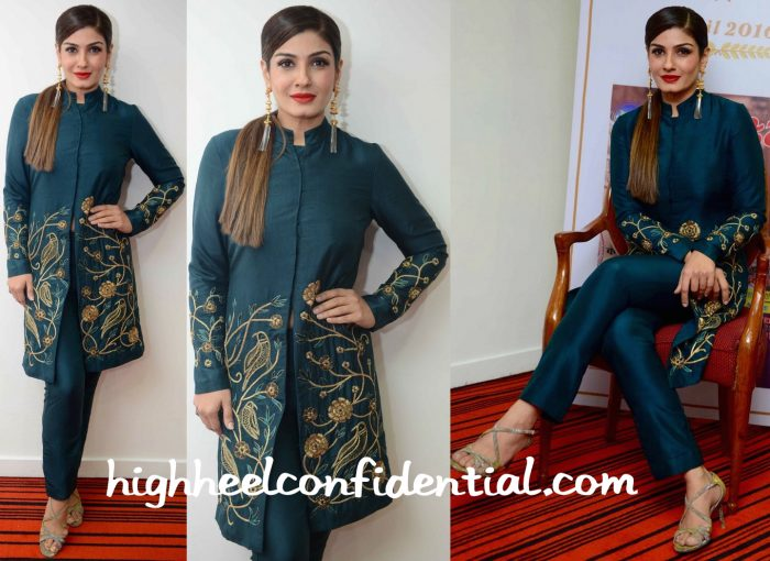 Raveena Tandon In Samatvam At Grehlakshmi's Latest Issue Launch-1