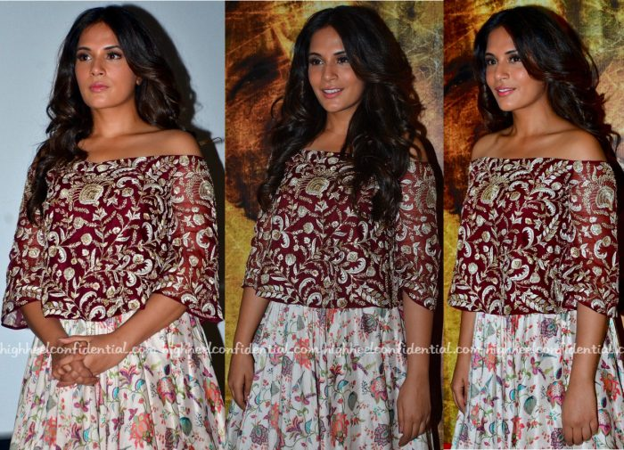 Richa Chadha In Payal Singhal At Sarabjit Song Launch-2