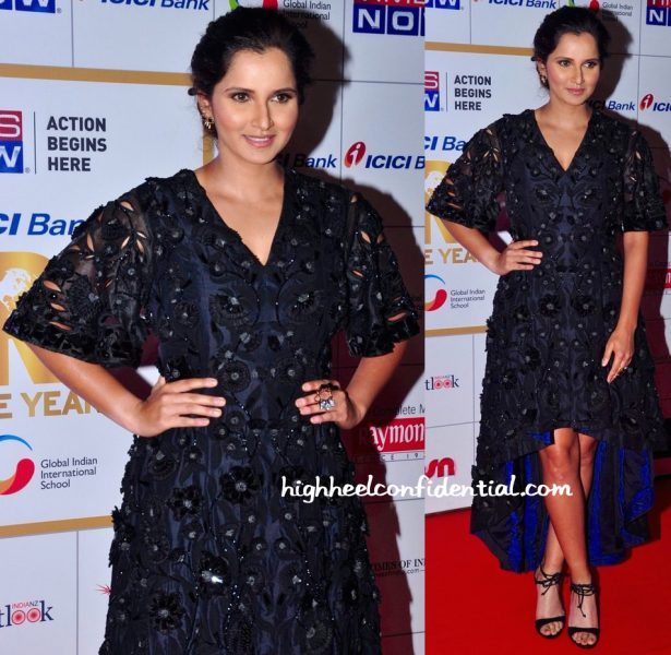 Sania Mirza In Pankaj And Nidhi At Times Now NRI Of The Year 2016 Awards-1