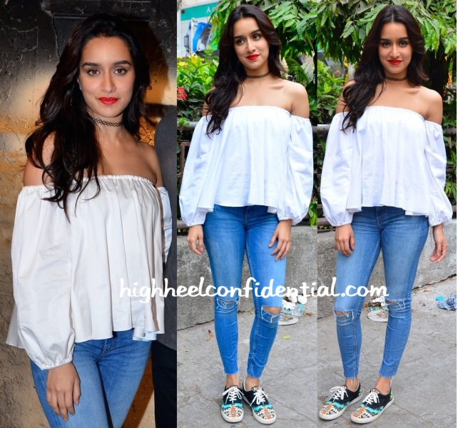 Shraddha Kapoor In Ankita By Ankita Choksey At 'Baaghi' Promotions-2