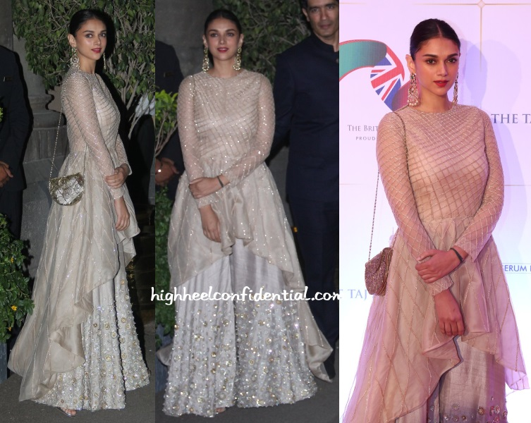 aditi-rao-hydari-manish-malhotra-charity-gala-dinner-royal-visit