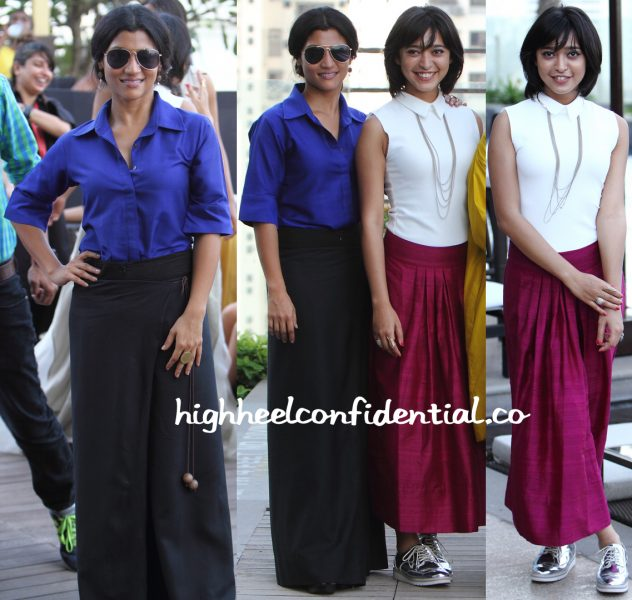 konkona sen sharma and sayani gupta n Payal Khandwala At LFW Summer Resort 2016