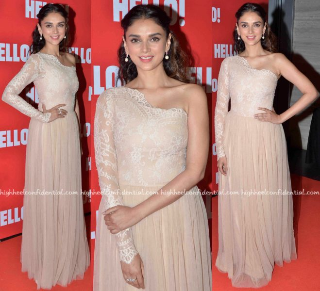 Aditi Rao Hydari At Hello! Magazine's 'Iconic Jewels Of India' Book Launch