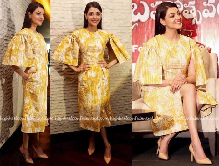 Kajal Aggarwal In Victoria Scandale At Brahmotsavam Promotions-1