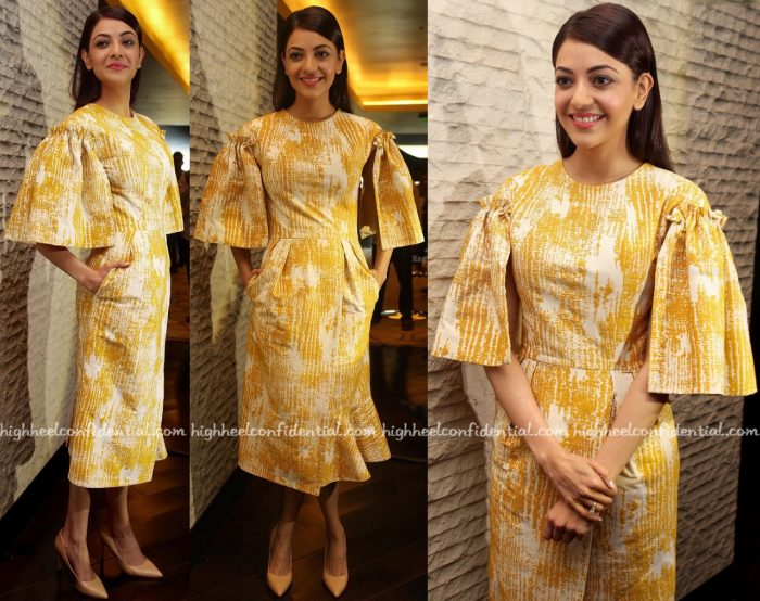 Kajal Aggarwal In Victoria Scandale At Brahmotsavam Promotions-2