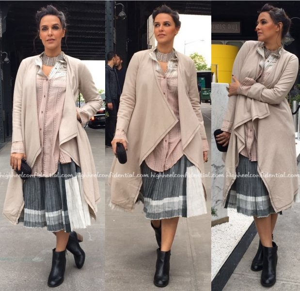 Neha Dhupia In Urvashi Kaur At Moh Maya Money Screening At New York Indian Film Festival 2016