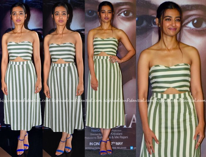 Radhika Apte At Phobia Promotions
