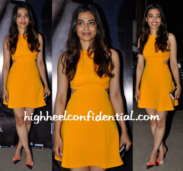 Radhika Apte In Abdul Halder At Phobia Promotions And In Topshop At Phobia Screening-2