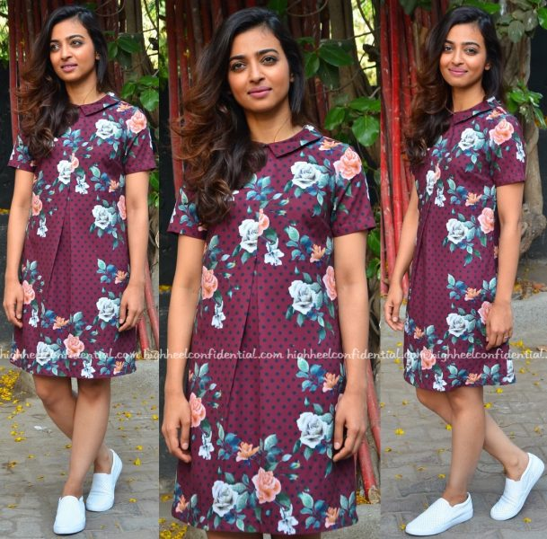 Radhika Apte Wears Ash Haute Couture To 'Phobia' Promotions