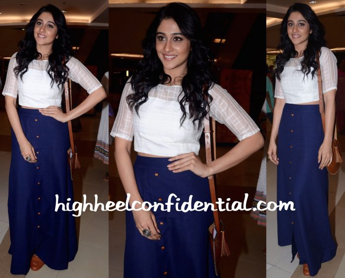 Regina Cassandra In Talasha At AMF Event In Hyderabad-1