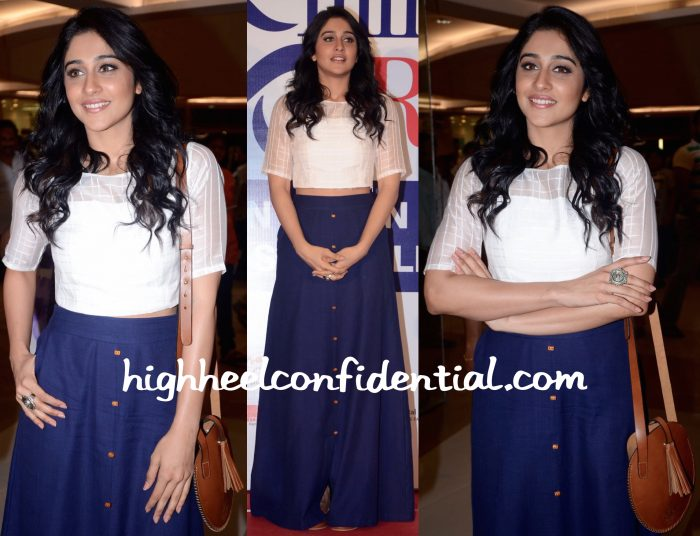 Regina Cassandra In Talasha At AMF Event In Hyderabad-2