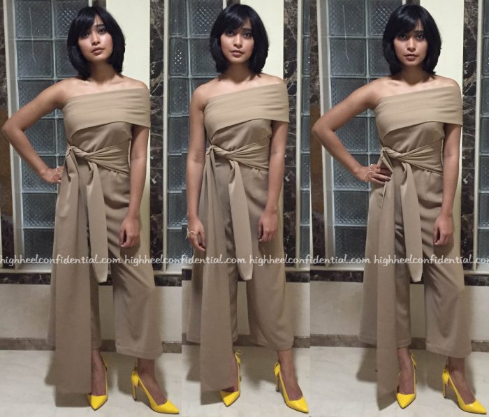 Sayani Gupta In Lola By Suman B At Lonely Planet Awards 2016
