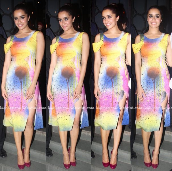 Shraddha Kapoor At 'Baaghi' Success Bash-1