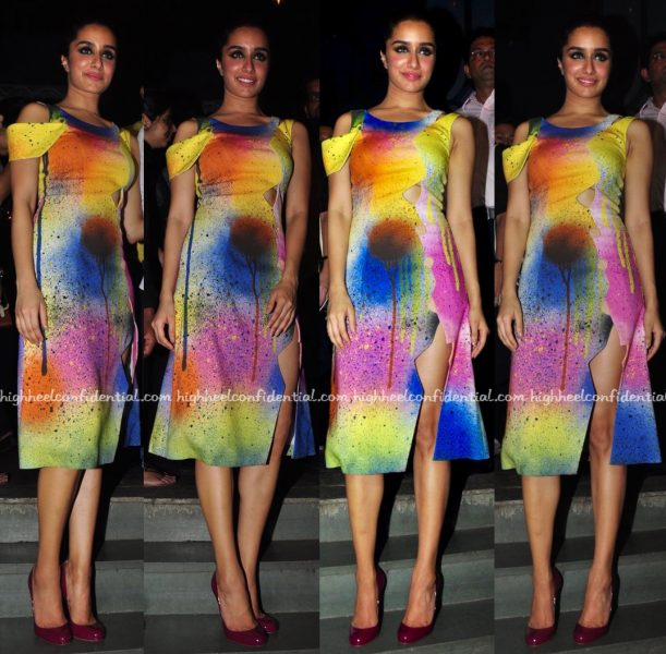 Shraddha Kapoor At 'Baaghi' Success Bash-2
