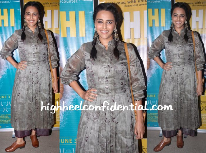 Swara Bhaskar At Thithi Screening