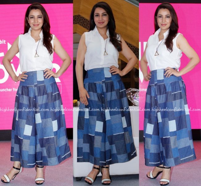 Tisca Chopra Wears Bungalow 8 To Pink Power 2016