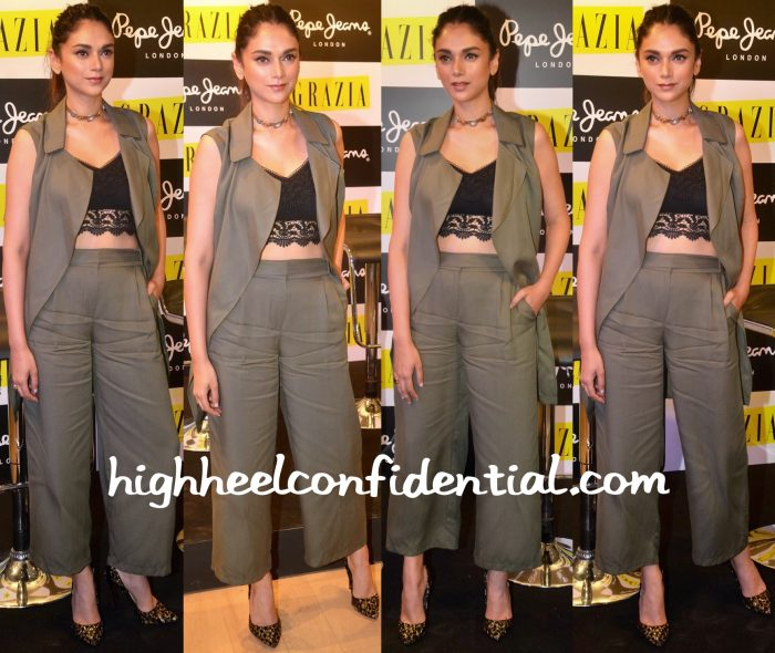Aditi Rao Hydari In Marks & Spencer At Grazia Cover Launch-1