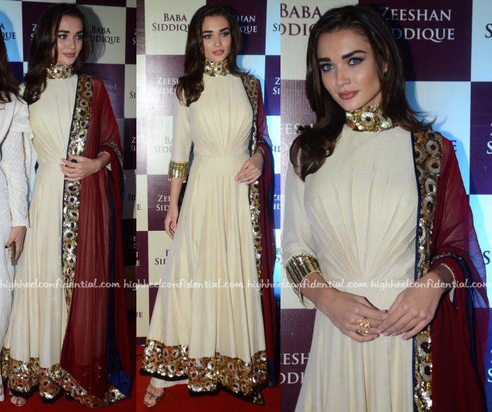 Amy Jackson In Manish Malhotra At Baba Siddique's Iftar Party-2