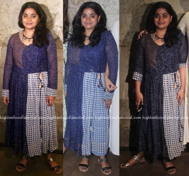 Ashwiny Iyer Tiwari In Paromita Banerjee At Nil Battey Sannata Screening