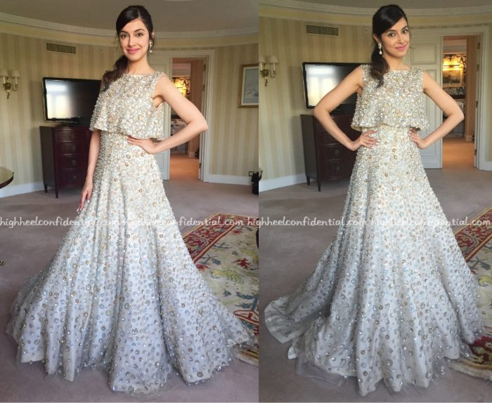 Divya Khosla Kumar In Manish Malhotra At IIFA Rocks 2016, Madrid-1
