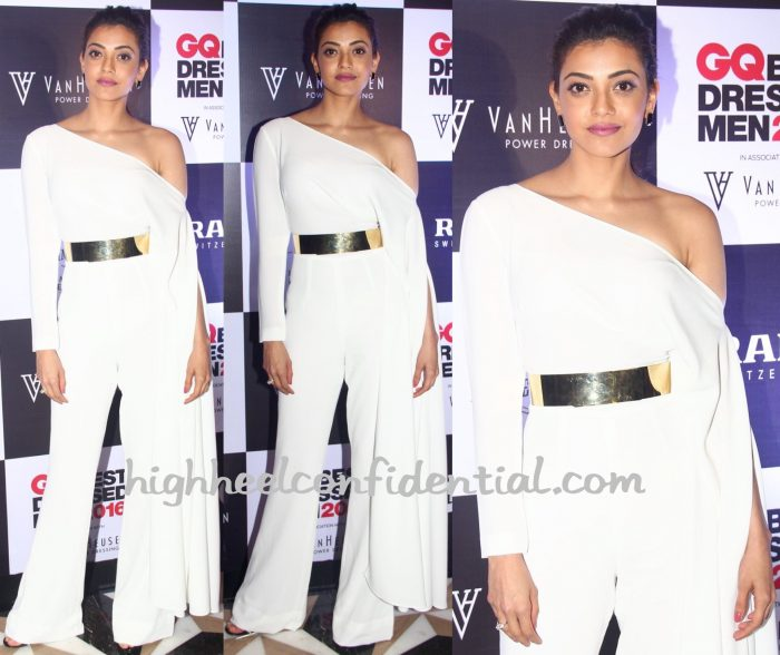 Kajal Aggarwal Wears Nikhil Thampi To GQ Best Dressed Men 2016