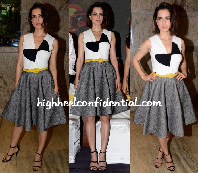 Kangana Ranaut In Paul Ka At Kriti Screening-2