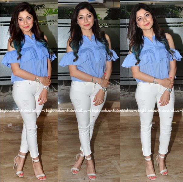 Kanika Kapoor In Zara At World Music Day Event