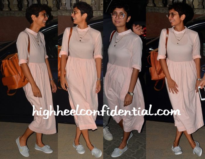 Kiran Rao Photographed In Nishka Lulla While Out In Mumbai