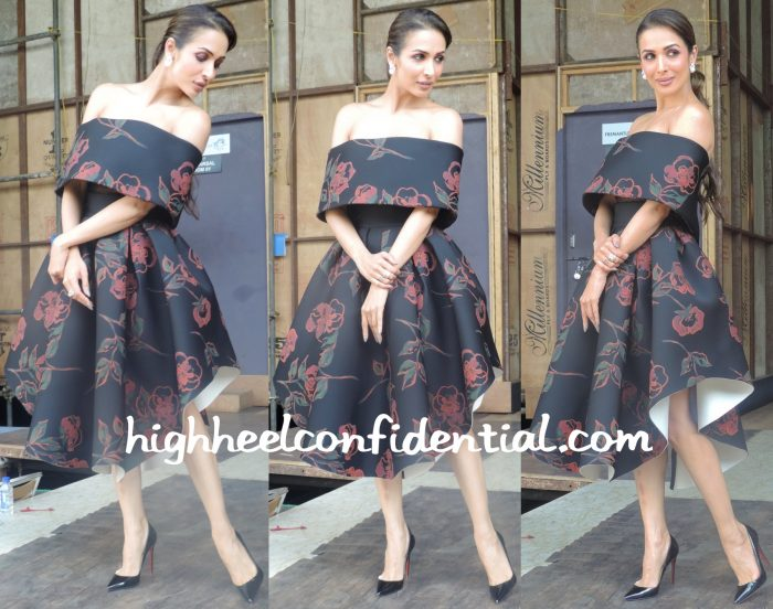 Malaika Arora Khan In Saiid Kobeisy On India's Got Talent Sets-1