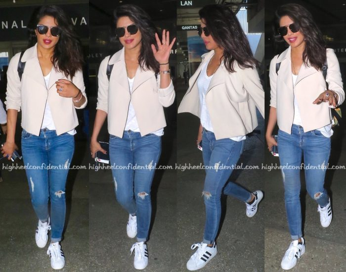 Priyanka Chopra (In Theory) Photographed At The Airport