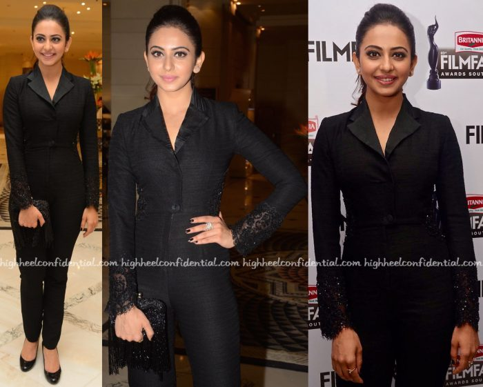 Rakul Preet Singh In Shriya Som At Filmfare South 2016 Press Meet-2
