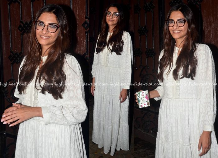 Sonam Kapoor Photographed In A Bungalow 8 Dress On Her Birthday-2