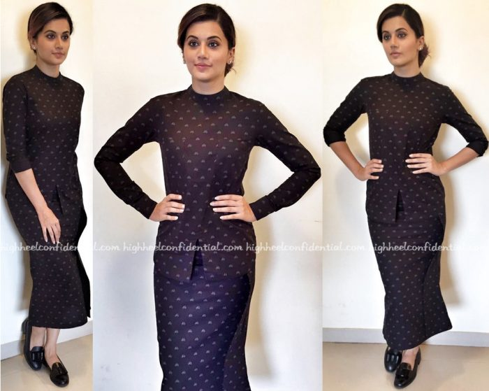 Taapsee Pannu In Manish Bansal And Quench At 'Tum Ho Toh Lagta Hai' Promotions-2