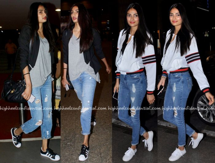 Travel(v)ogue- Athiya Shetty Photographed At The Airport