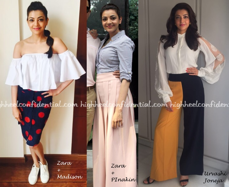 kajal-aggarwal-zara-madison-pinakin-urvashi-joneja-do-lafzon-promotions