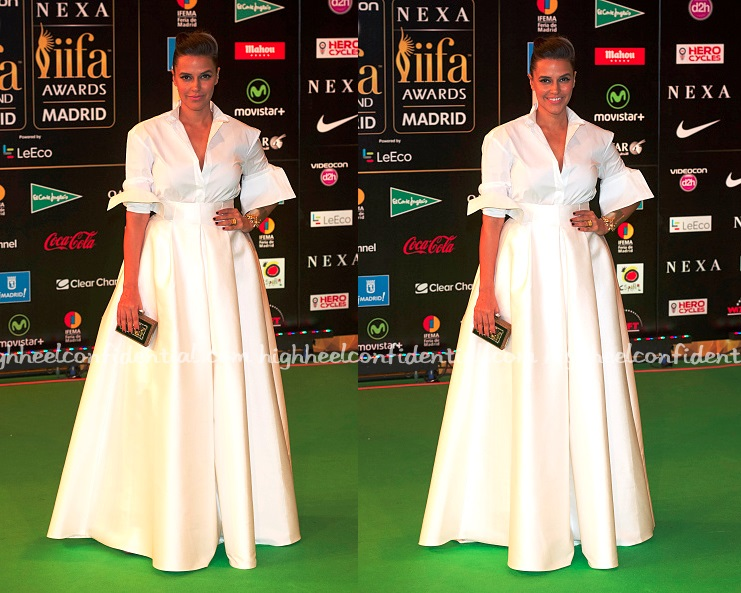 neha-dhupia-hm-iifa-awards-2016-madrid-white