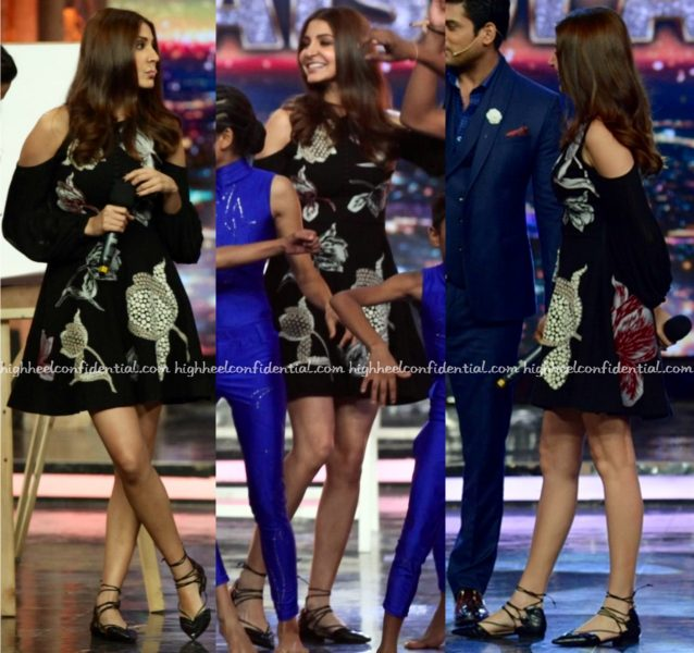 Anushka Sharma Wears Nachiket Barve To India's Got Talent Sets For Sultan Promotions-1