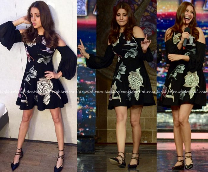 Anushka Sharma Wears Nachiket Barve To India's Got Talent Sets For Sultan Promotions-2