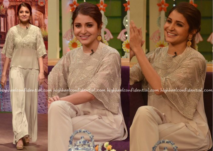 Anushka Sharma Wears Ridhi Mehra To 'The Kapil Sharma Show' Sets For Sultan Promotions-2